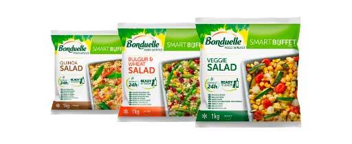 Profesionalhoreca, ensaladas vegetarianas Bonduelle