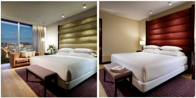 profesionalhoreca, habitaciones del Hyatt Regency Barcelona Tower