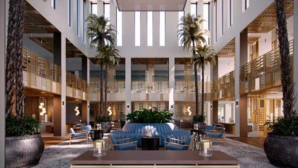 Profesionalhoreca, lobby del resort Ikos Andalusia, en Estepona