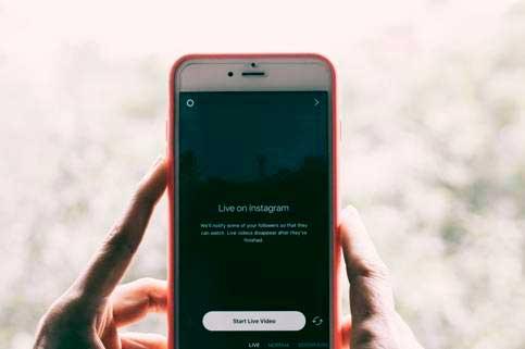 Profesionalhoreca, Linkers, móvil con Instagram