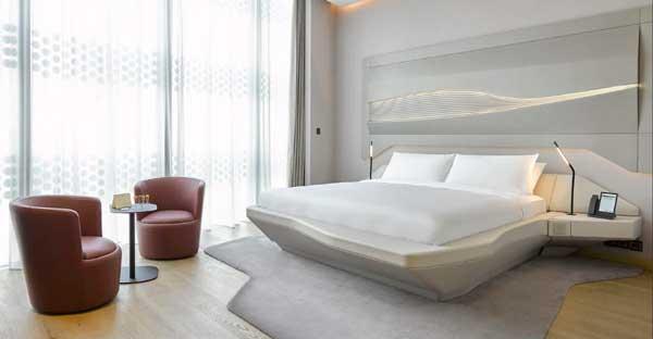 Profesionalhoreca, habitación Aura del hotel ME Dubai