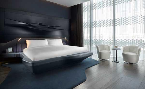 Profesionalhoreca, habitación Vibe del hotel ME Dubai