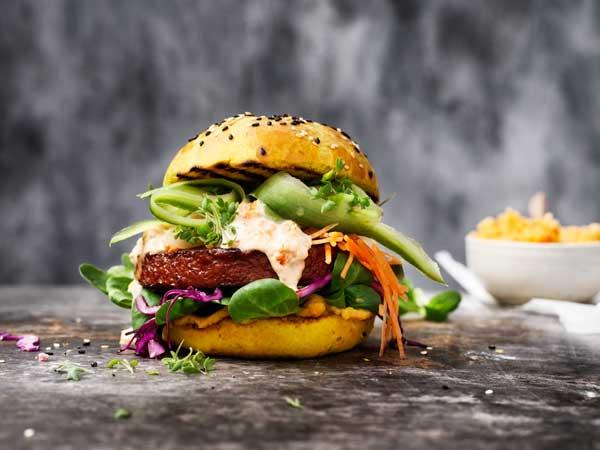 Profesionalhoreca, hamburguesa Incredible Burger, 100% vegetal, de Garden Gourmet - Nestlé Professional