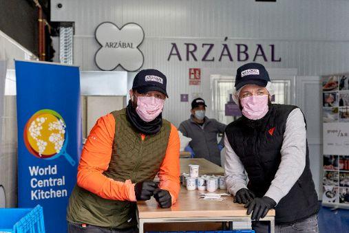 profesionalhoreca, World Central Kitchen y Grupo Arzábal