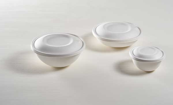 Profesionalhoreca, boles biodegradables con tapa Eko Bowls de Cookplay