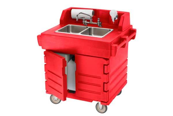 Profesionalhoreca, carrito lavamanos de Cambro