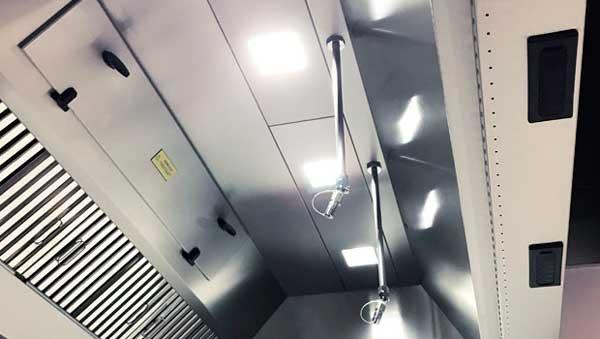 Profesionalhoreca, sistema de iluminación para cocinas profesionales Halton Skyline