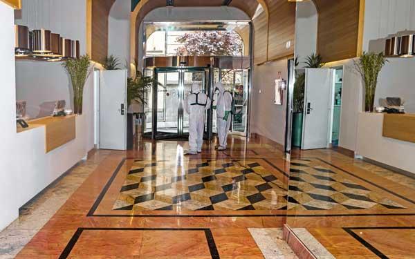 Profesionalhoreca, desinfección en el hotel VP Jardín de Recoletos