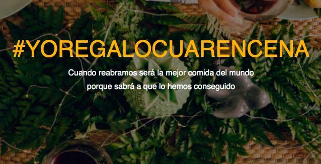 Profesionalhoreca, #YoRegaloCuarencena