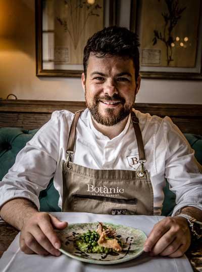 Profesionalhoreca, Andrés Benítez, chef de Botànic, hotel Can Bordoy