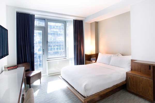 Profesionalhoreca, habitación de hotel vestida por Resuinsa