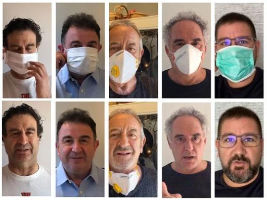 profesionalhoreca, chefs de la campaña #daremoslacara