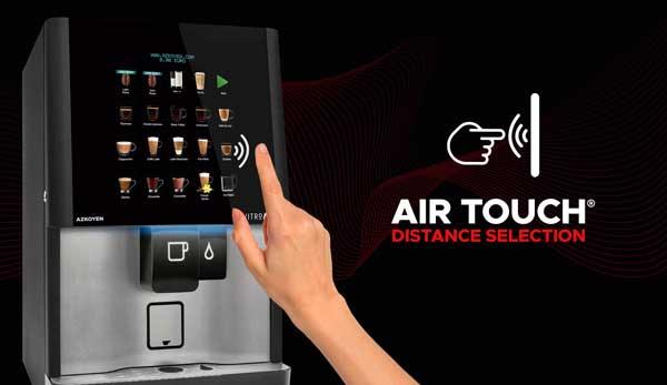 Profesionalhoreca, máquina de café de Azkoyen con tecnología Air Touch