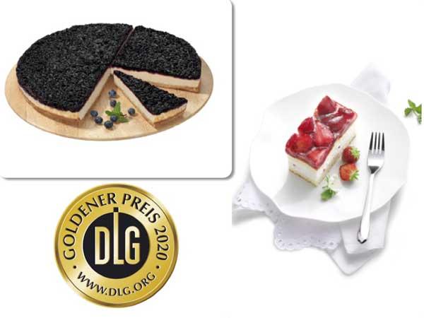 Profesionalhoreca, tartas de Erlencacher con medallas de oro de la DLG