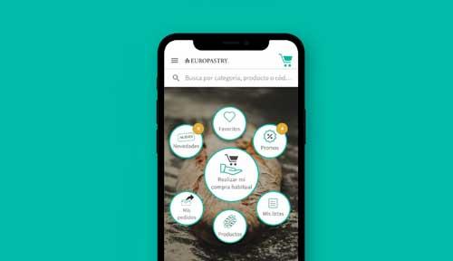 Profesionalhoreca, app de Europastry