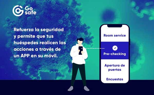 Profesionalhoreca, app Gosafe de Easygoband