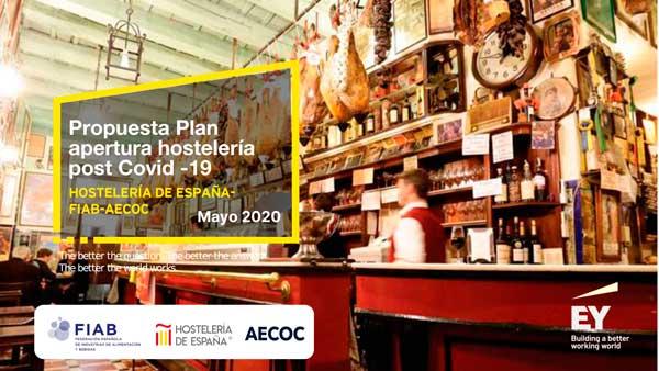 Profesionalhoreca, Propuesta Plan de apertura hostelería post Covid-19