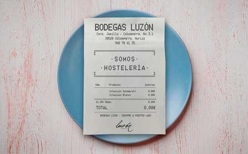Profesionalhoreca, campaña de apoyo a la hostelería de Bodegas Luzón