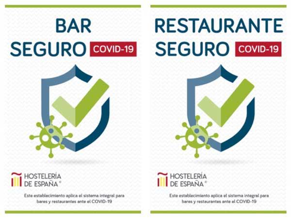 Proesionalhoreca, distintovos de Bar Seguro y de Restaurante Seguro