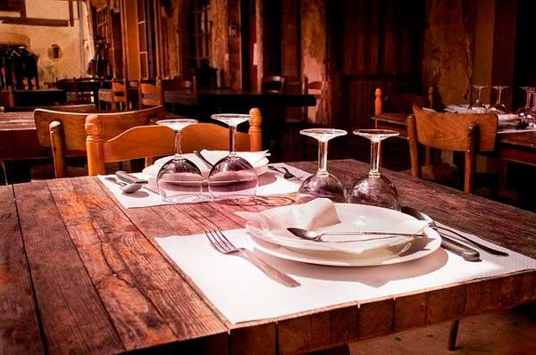 Profesionalhoreca, mesa de restaurante