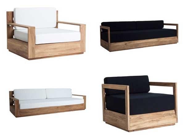 Profesionalhoreca, sofá y sillón Sciacca de Vical