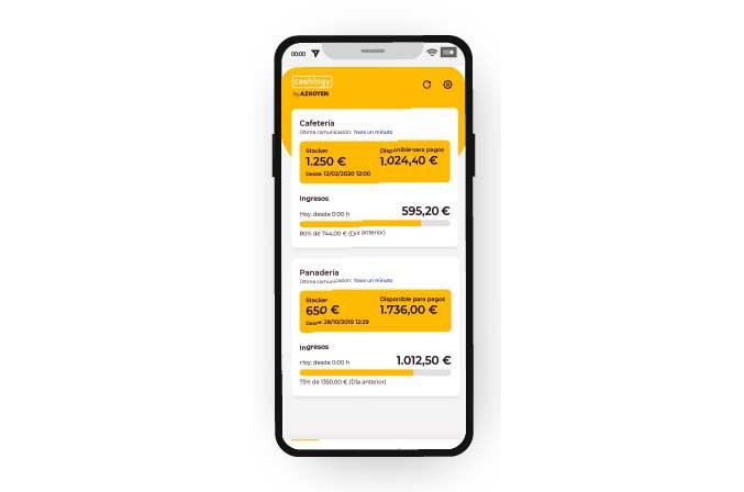 Profesionalhoreca, app Cashlogy