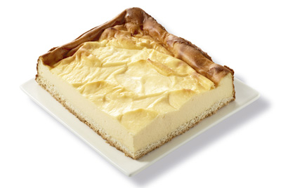 Profesionalhoreca, tartas Fresh de Erlenbacher. Rectángulo de queso
