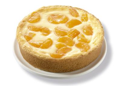Profesionalhoreca, tartas Fresh de Erlenbacher. Tarta de queso y mandarina