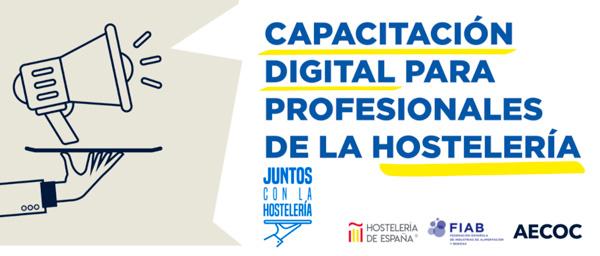 Profesionalhoreca, imagen de la web Juntos con la hostelería