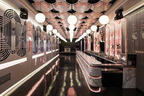 Profesionalhoreca, sala lounge de Pastrami Club, proyecto de Paco Lago Interiorismo
