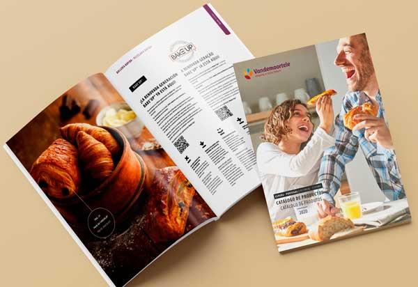 Profesionalhoreca, catálogo Vandemoortele 2020