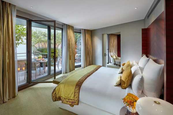 Profesionalhoreca, suite de hotel vestida por Vayoil