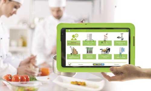 Profesionalhoreca, tablet de ePack