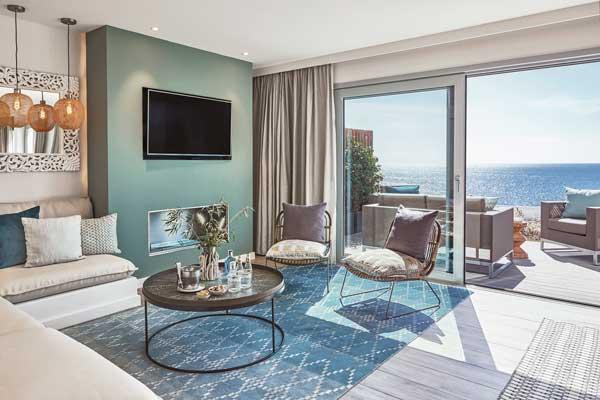 Profesionalhoreca, suite del resort 7Pines Kempinski Ibiza