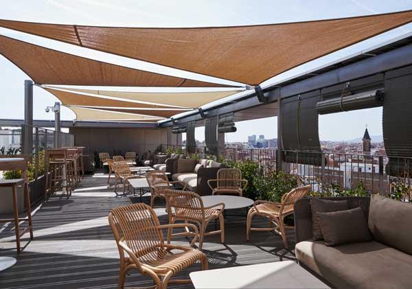 Profesionalhoreca, terraza del hotel Terra de Barcelona