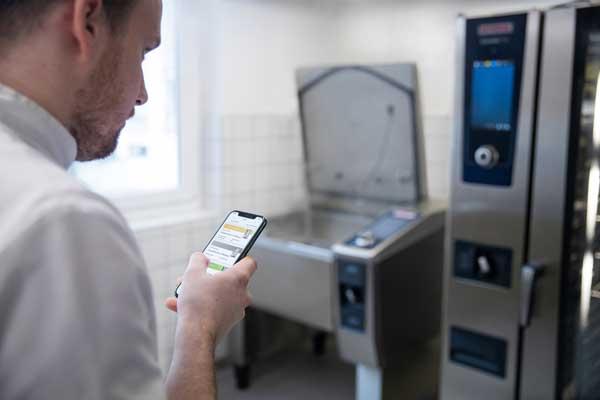 Proefsionalhoreca, ConnectedCooking para controlar el horno desde el móvil