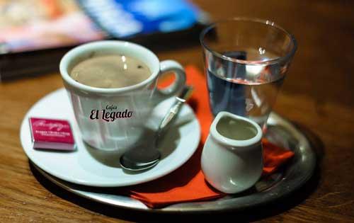 Profesionalhoreca, taza de café El Legado