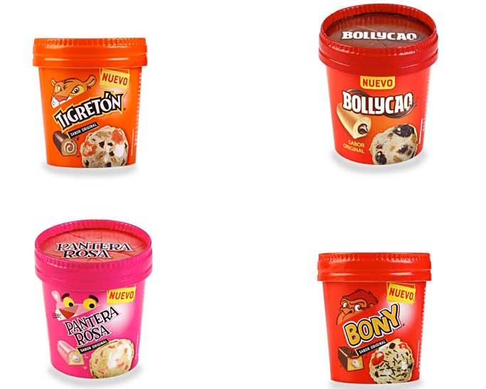 Profesionalhoreca, helados de pastelitos Bimbo para horeca
