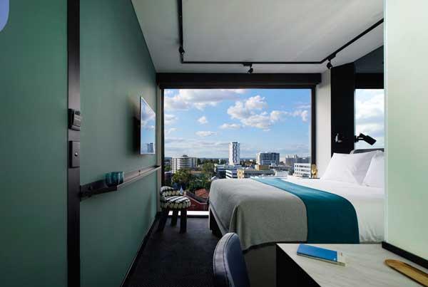 Profesionalhoreca, habitación de un hotel Tribe