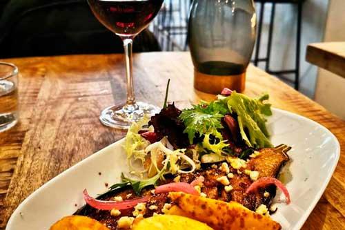 Profesionalhoreca, plato del restaurante La Catalista, en Barcelona