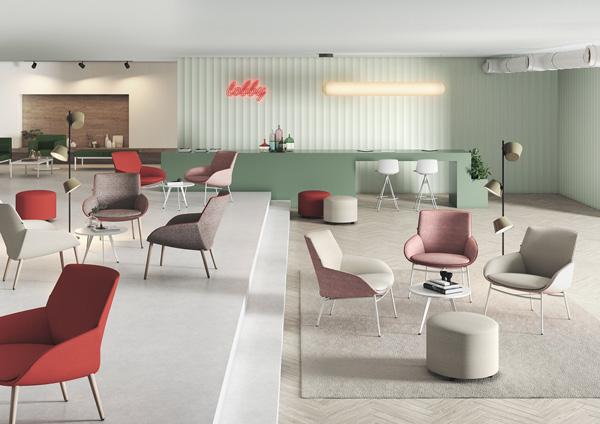 profesionalhoreca, mobiliario de Actiu para el hotel
