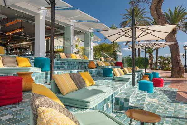 Profesionalhoreca, terraza del Ve Café del hotel W Ibiza