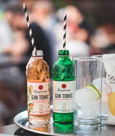 Profesionalhoreca gin-tonics preparados de Tanqueray