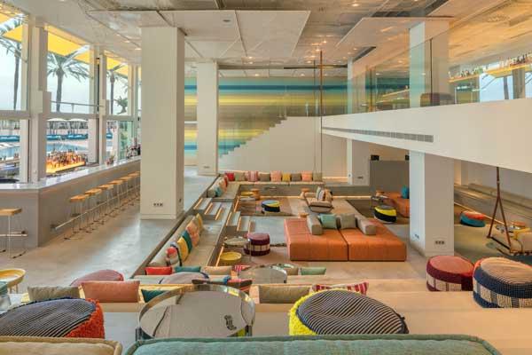 Profesionalhoreca, lobby del hotel W Ibiza