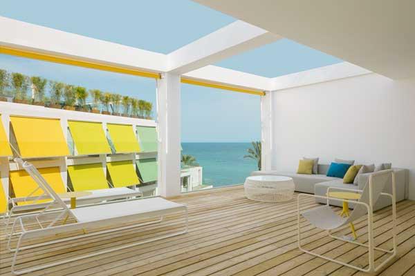 Profesionalhoreca, terraza del hotel W Ibiza