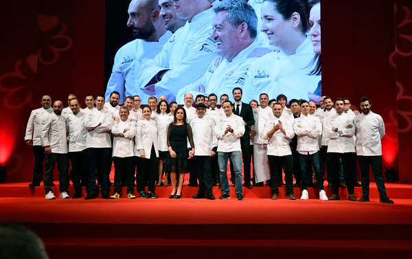 Profesionalhoreca, gala presentación de la Guía Michelin