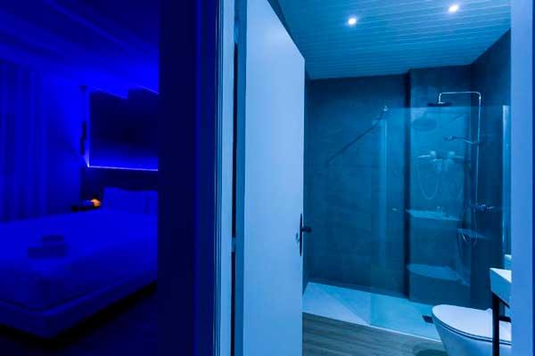 Profesionalhoreca, habitación del hotel Mas de la Sala en modo noche