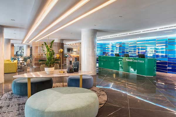 Profesionalhoreca, hotel Barceló Costa Vasca, recepción