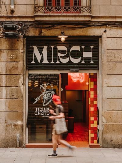 Profesionalhoreca, fachada del restaurante Mirch Barcelona by Tandoor