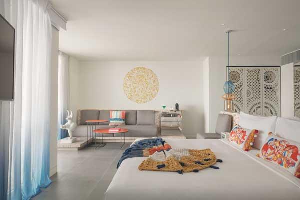 Profesionalhoreca, habitación del hotel W Ibiza